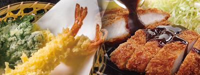 天ぷら、フライの写真